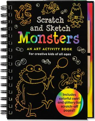 Monsters Scratch & Sketch By Nemmers, Lee/ Zschock, Martha Day (ILT)